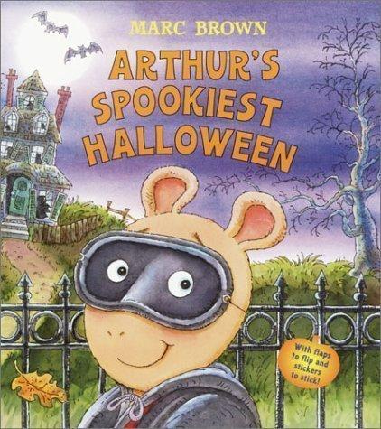 Arthur's Spookiest Halloween (Arthur Adventures) by Brown, Marc Tolon Brdbk edition (2003)]()