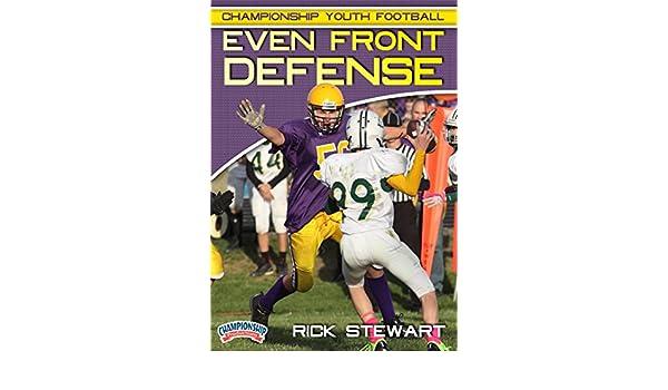 Amazon Com Championship Youth Football Even Front Defense Rick Stewart Movies Tv