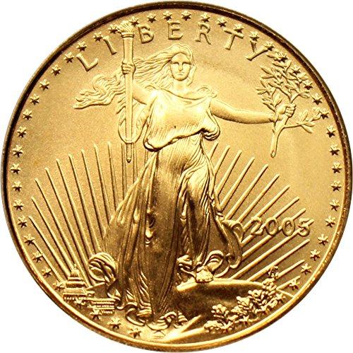 2005 W $25 American Eagles – Gold Gold Eagle First Strike Twenty Five Dollar MS69 PCGS