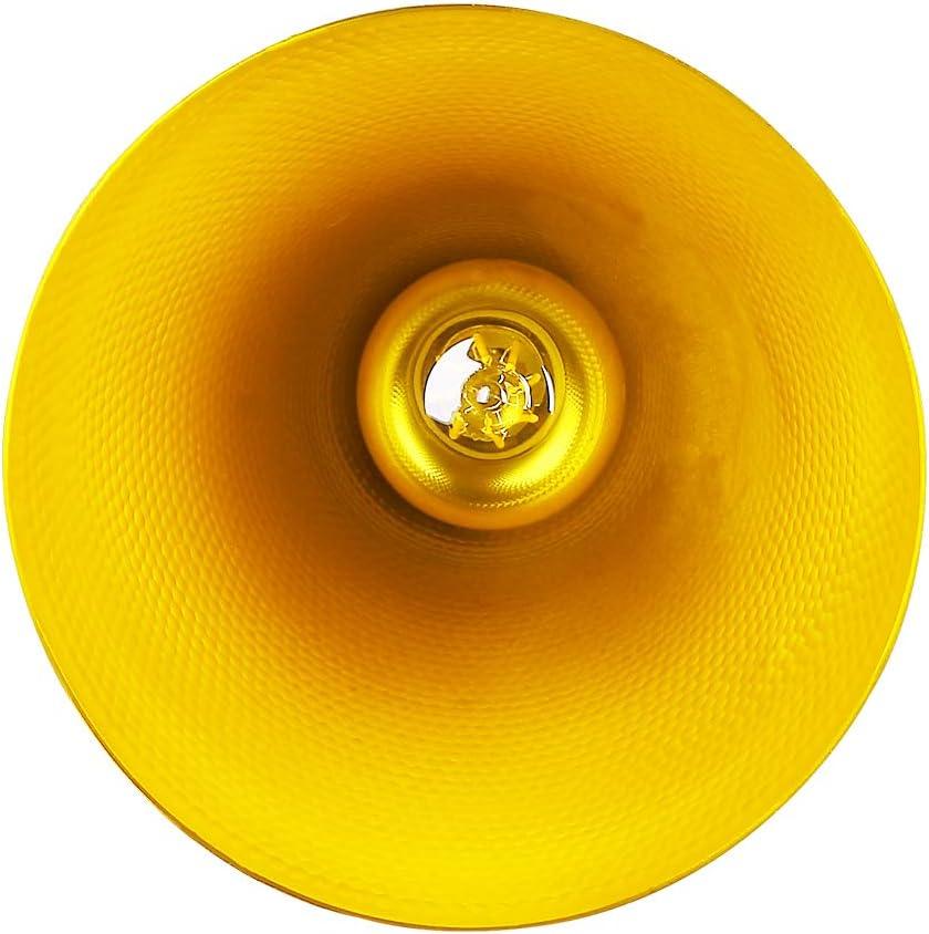 CCLIFE 2er Industrial Pendelleuchte H/ängelampe Metall Industrielle H/ängeleuchte Vintage Retro Schwarz//Wei/ß Pendellampe