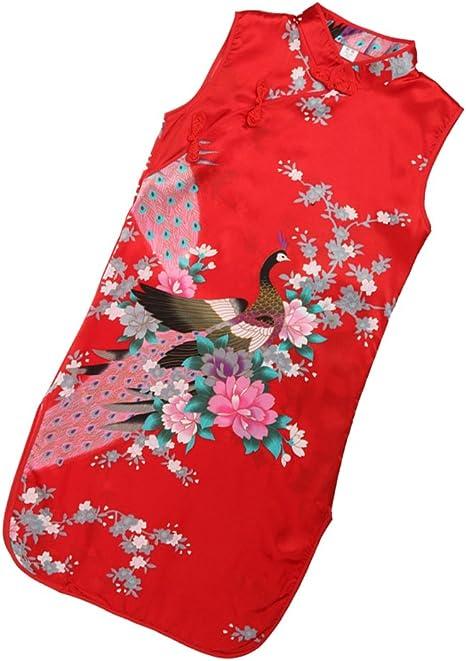 baoblaze Asia China Disfraz Geisha Disfraz Vestidos chino niña ...