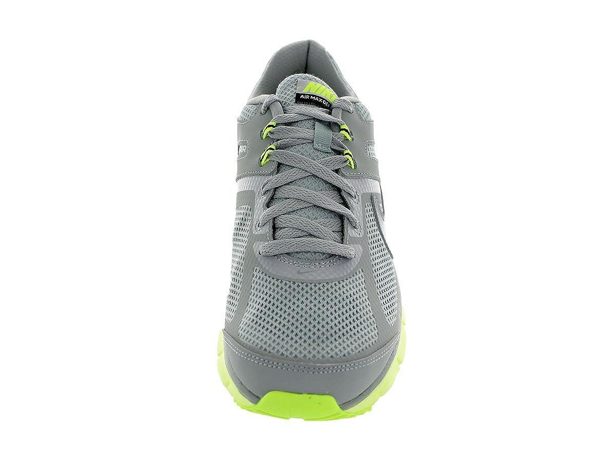 huge discount 5884d a0e3b Amazon.com   Nike Men s Air Defy Rn Silver Black Volt Running Shoe 8.5 Men  US   Road Running