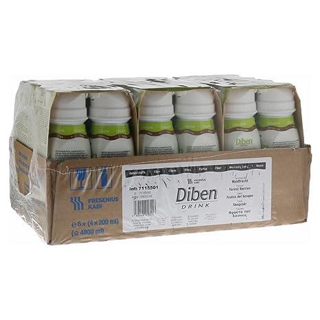 Bebida Diban de frutos del bosque (1,5 Kcal/ml) pack de