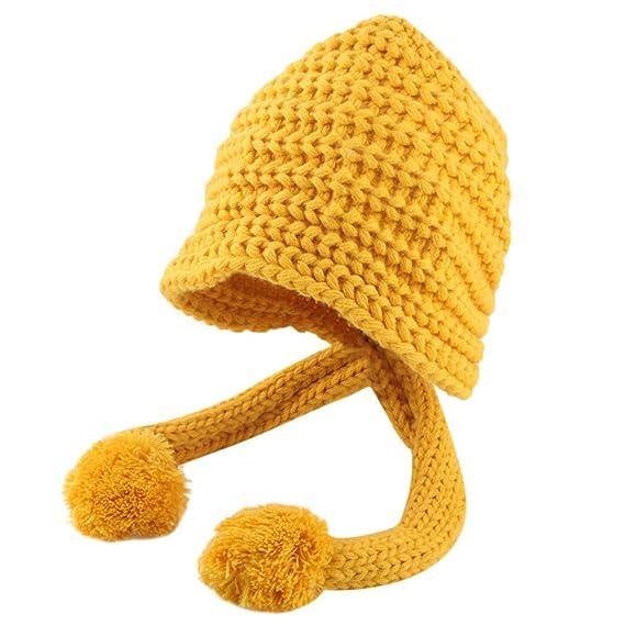 Mitlfuny Sombreros de bebé Unisex Bola de Pelo Escorpion Gorro de ...