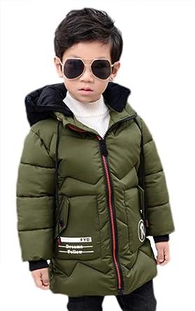 6ef55bf2815c5  ミートン  子供服 男の子 ダウンコート ロング 中綿コート フード付き ダウンジャケット キッズ