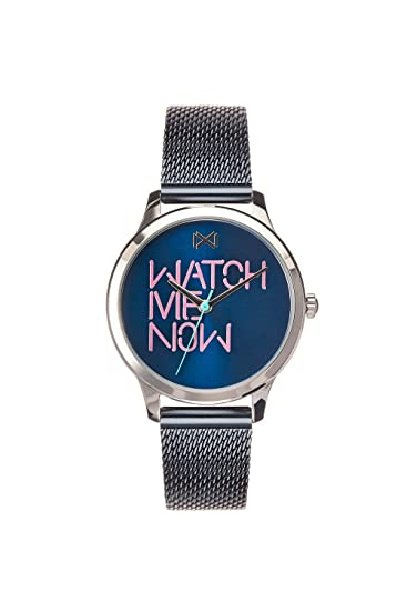 Mark Maddox Reloj Analogico para Mujer de Cuarzo con Correa en Acero Inoxidable MM7103-30: Amazon.es: Relojes