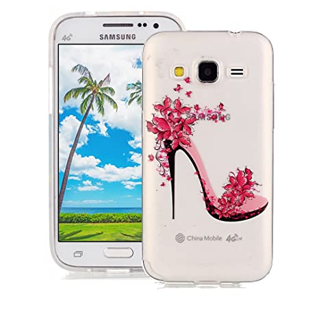 XiaoXiMi Funda de Silicona para Samsung Galaxy Core Prime ...