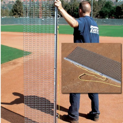 BSN Rigid Drag Mat, 4 x 18-feet by BSN Sports
