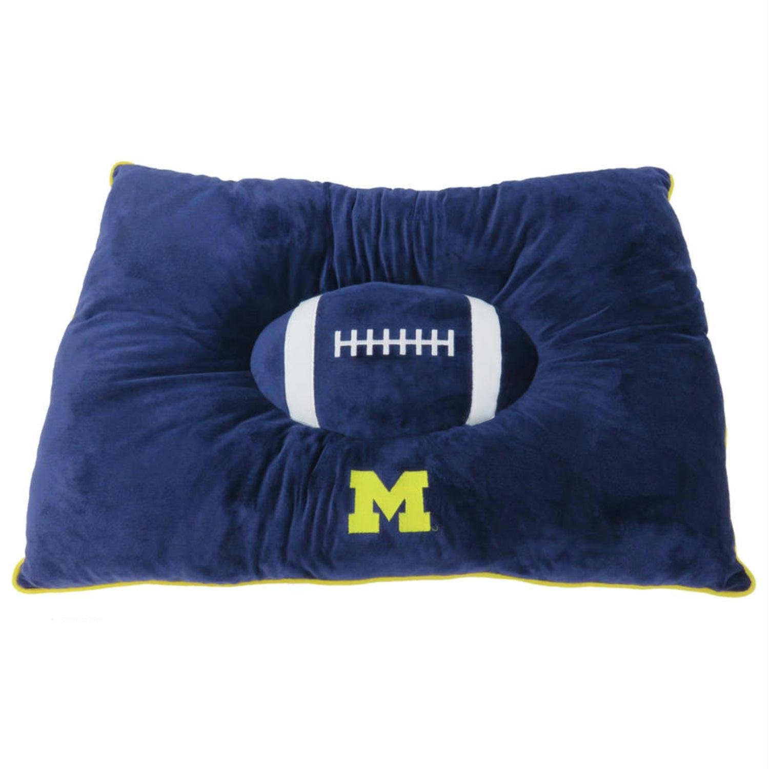 Michigan Wolverines Pet Pillow Bed