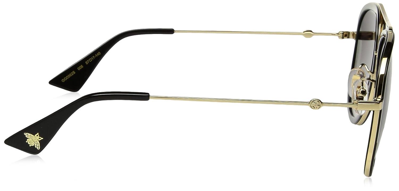 6ef8b33e280 Gucci 0062S 006 Gold 0062S Aviator Sunglasses Lens Category 3 Size 57mm   Amazon.com.au  Fashion
