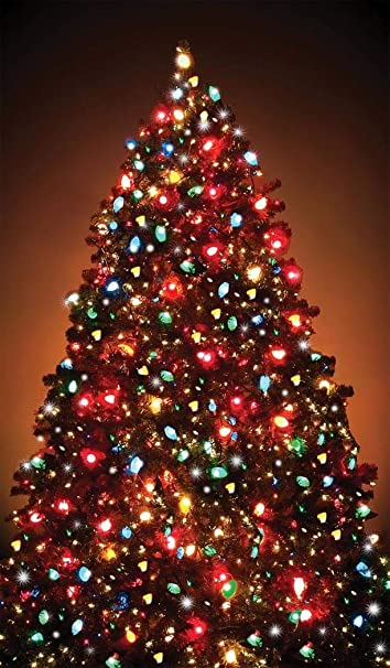 Wowindow Posters Christmas Tree Window Decoration 34 5 X60 Backlit Poster
