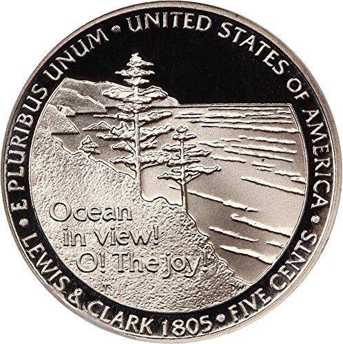 2005 S Jefferson Nickels (Proof) Ocean View/Western Waters Nickel PR69 NGC DCAM (Nickel Jefferson Ngc Mint)