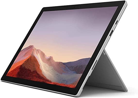"""NEW Microsoft Surface Pro 7 – 12.3"""" Touch-Screen - Intel Core i5 - 8GB Memory - 128GB Solid State Drive (Latest Model) – Platinum (Renewed)"""