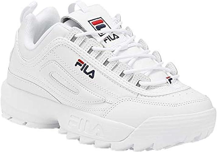 Navy Fashion Shoes Black Men Fila Disruptor II Kids Women Sneaker White