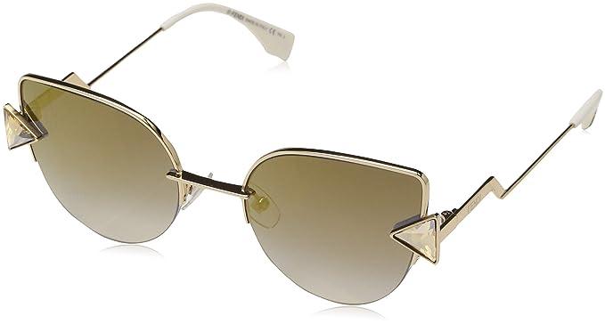 Fendi FF 0242/S FQ 000 52 Gafas de Sol, Dorado (Rose Gold ...