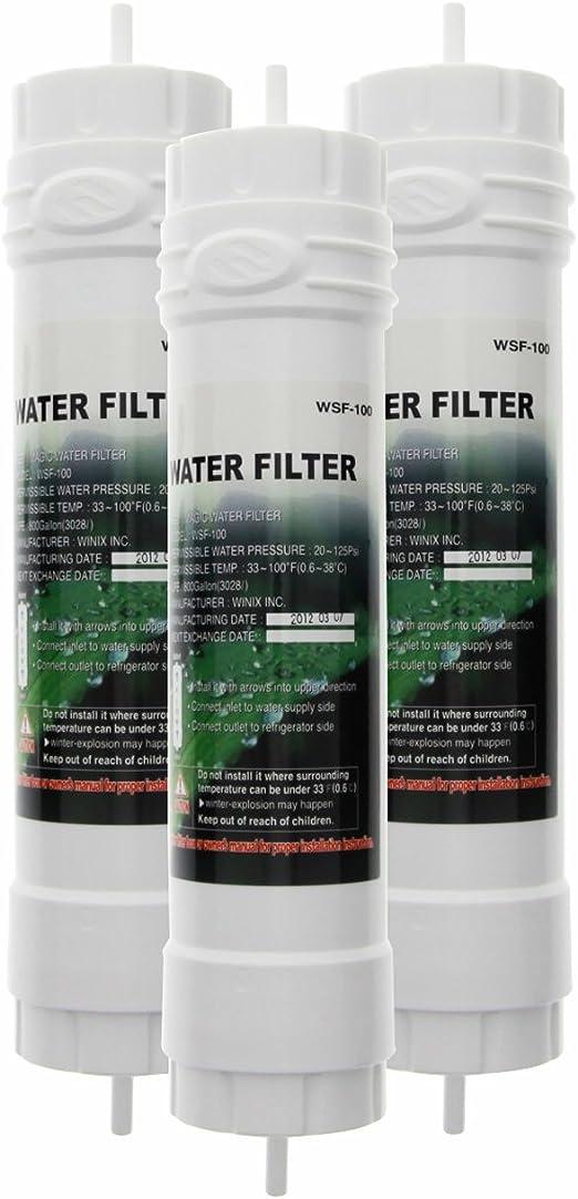 Filtro Compatible Para Samsung EF-9603 DA29-10105C WSF-100 Refrigerador De Agua Filtro