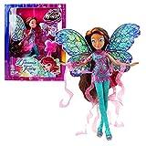 World of Winx - Dreamix Fairy Doll - Layla Aisha 28cm with Magical Robe