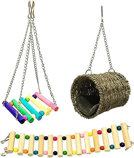 Latch Hook Kit Stickkissen Kn/üpfen Kn/üpfset Kn/üpfbild Kn/üpfhaken Kunsthandwerk f/ür Kinder Erwachsene Hase Katze joyMerit 4X Kn/üpfkissen Kn/üpfpackung