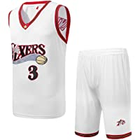 LDHY Hombres NBA Iverson # 3 Jersey Traje