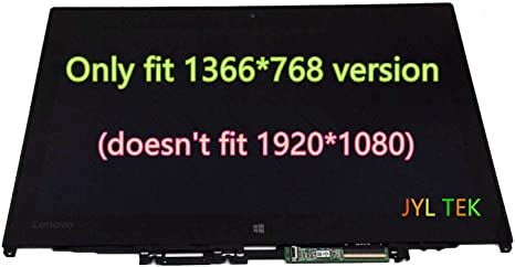 "Bezel Assembly Frame for Lenovo Edge 2-1580 80QF New 15.6/"" LCD LED Touch Screen"