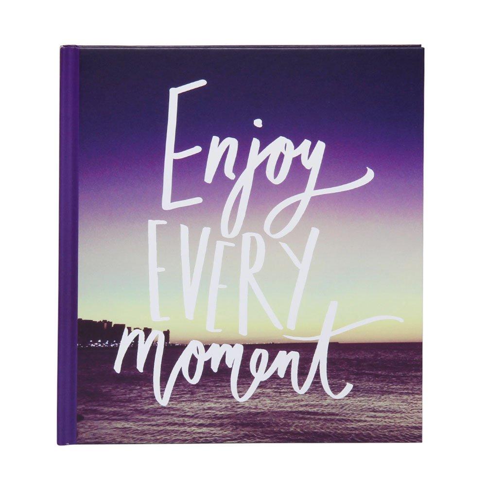 Enjoy medium self-adhesive slogan photo album Paperchase