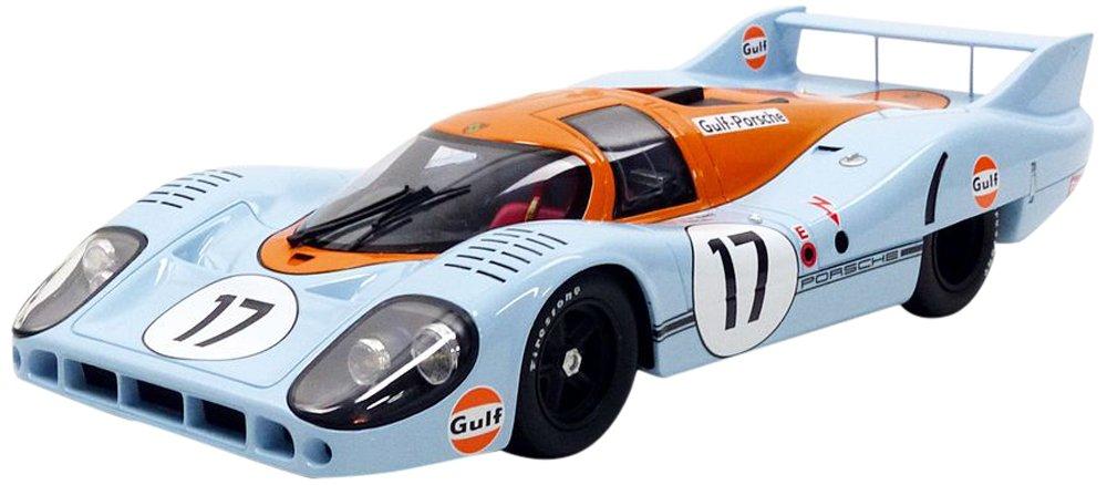 CMR 917lungo Tail Gulf le Mans 1971Porsche veicolo in miniatura, cmr044, Blu/Arancione, scala 1/18