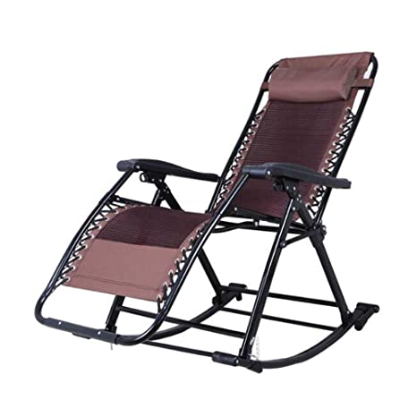 Amazon.com: ZR- Rocking Chair\folding Recliner\sleeping ...