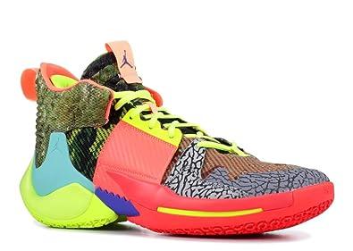 3a48f2f5be Amazon.com | Nike Jordan Why Not Zer0.2 Sp Mens Ci6875-300 | Basketball