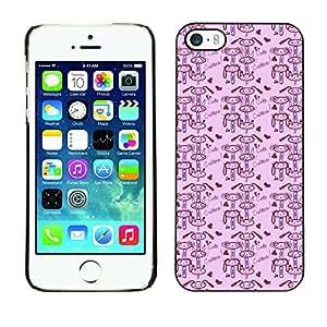 ZECASE Funda Carcasa Tapa Case Cover Para Apple iPhone 5 / 5S No.0004131
