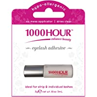 1000 HOUR Eyelash Adhesive Glue, Clear, 16 g