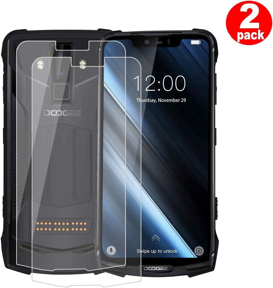 QFSM 2 Pack Película Protectora para DOOGEE S90, Resistente al ...