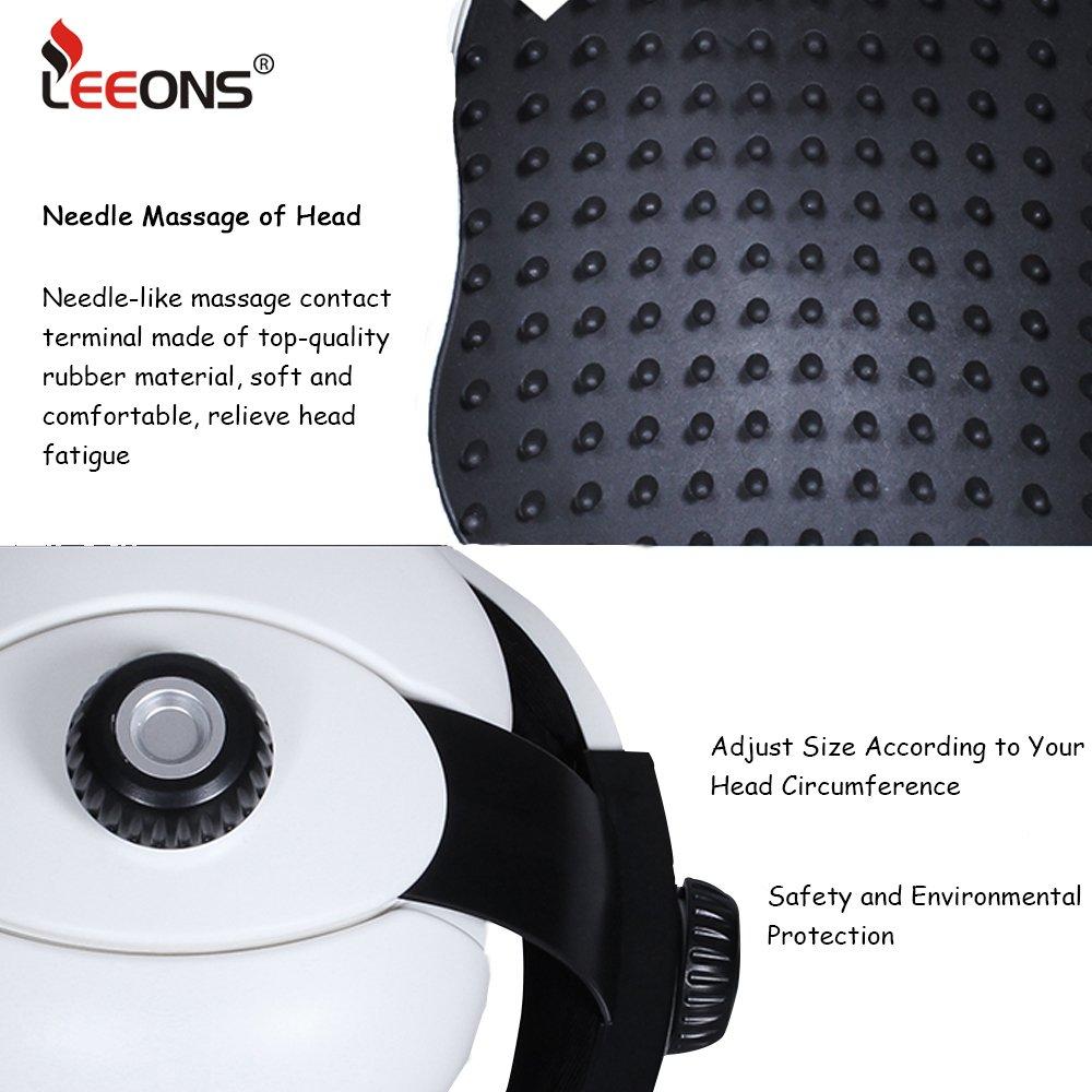 Amazon.com: leeons eléctrico masajeador de cabeza aliviar el ...