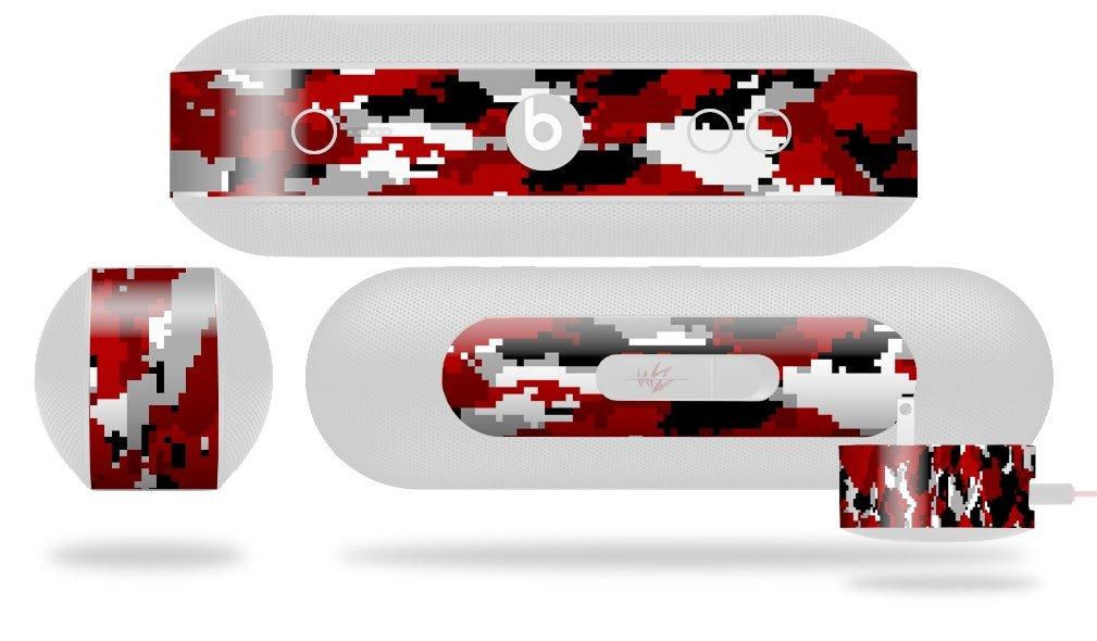 wraptorcamoデジタル迷彩レッドスキンFits Beats Pill Plus ( Beats Pill Not Included )   B01CX1DL54