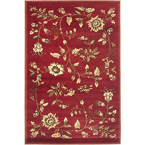 Safavieh Lyndhurst Collection LNH552-4091 Traditional Floral Red and Multi Area Rug (3'3