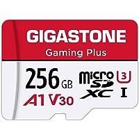 Gigastone - Tarjeta Micro SD de 256 GB, compatible con Nintendo Switch, alta velocidad de 100 MB/s, grabación de vídeo…
