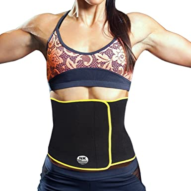 6a7c2e37f70 SAYFUT Waist Trimmer Exercise Wrap Belt Slimming Burn Fat Sweat Weight Loss  Body Shaper