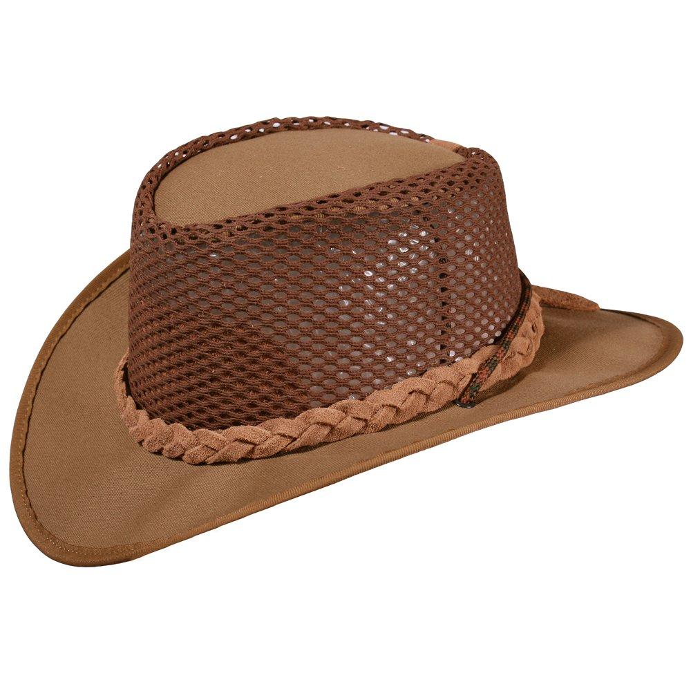 Tracker khaki luftig Leinen Hut