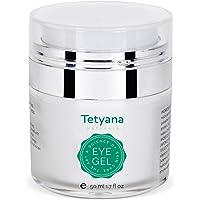 Tetyana naturals Eye Gel with Allantoin, Hyaluronic acid
