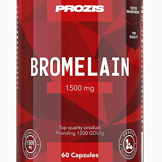 Prozis Bromelain - 60 Cápsulas: Amazon.es: Salud y cuidado personal