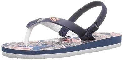 989cb90ebf Amazon.com   Roxy Kids' TW Tahiti Toddler Sandal Flip Flop   Sandals