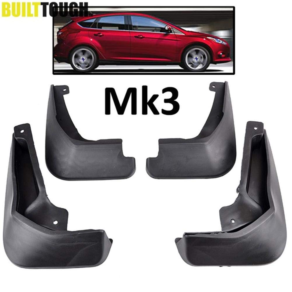 Alian Defensas del Coche 4PCS para 11-16 Guardabarros de Ford Focus 3 Hatchback: Amazon.es: Hogar