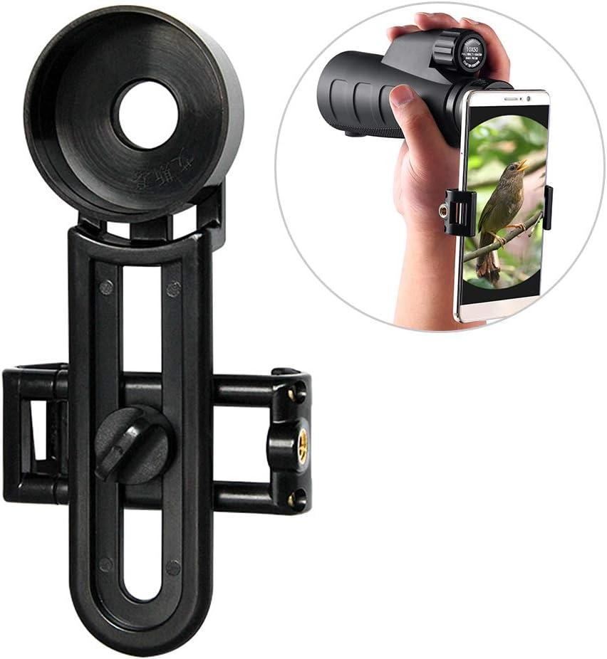 40.4MM Adapter 39MM 42MM Lixada1 Monocular Phone Holder Spotting Scope Phone Mount Telescope Binocular Adapter Mount 36MM 40MM