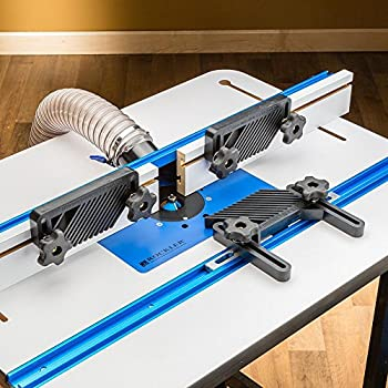 Trim router table amazon rockler 4 piece router table accessory kit keyboard keysfo Images