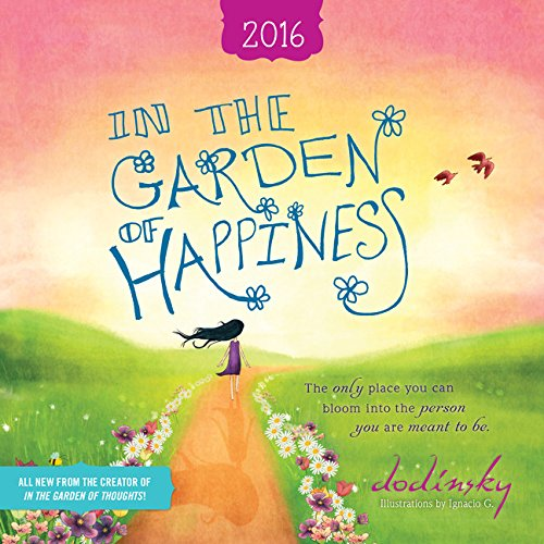 2016 In the Garden of Happiness Wall Calendar