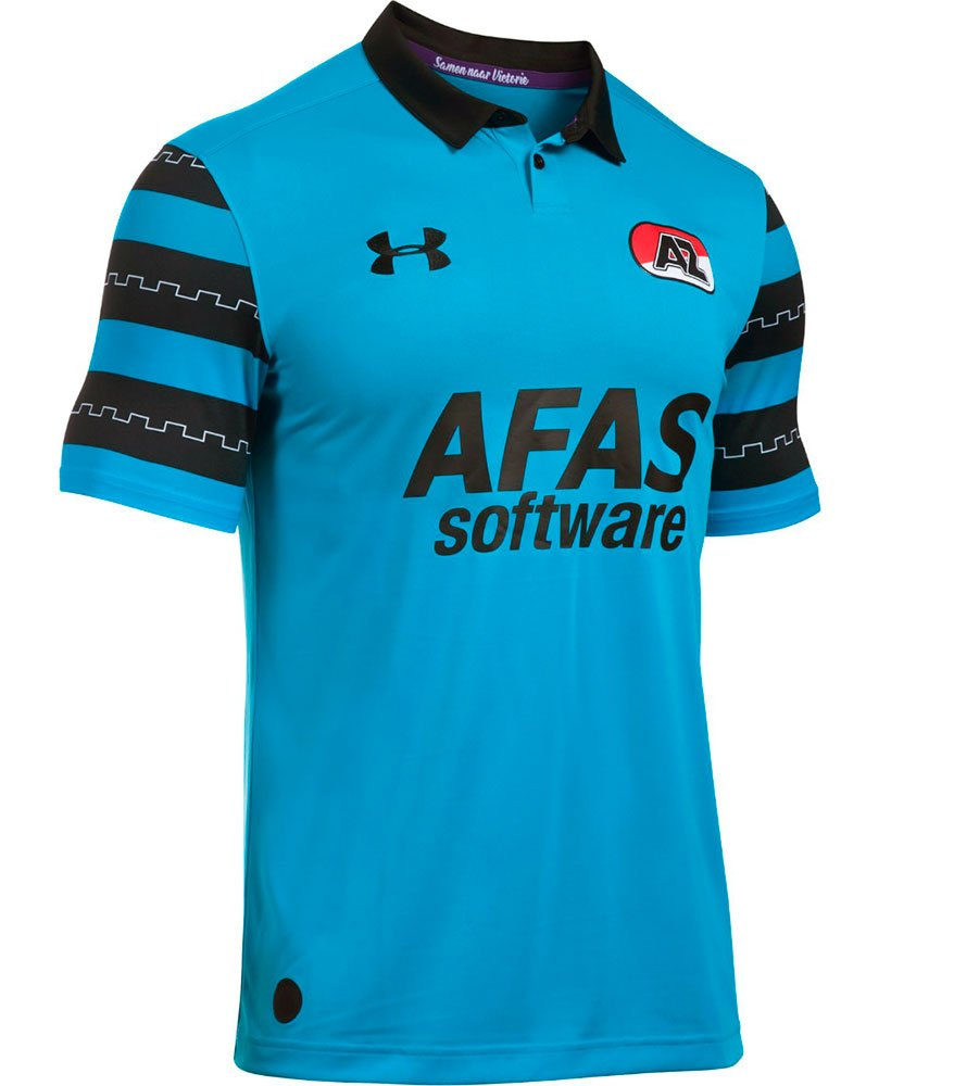 2016-2017 AZ Alkmaar Away Football Shirt Under Armour