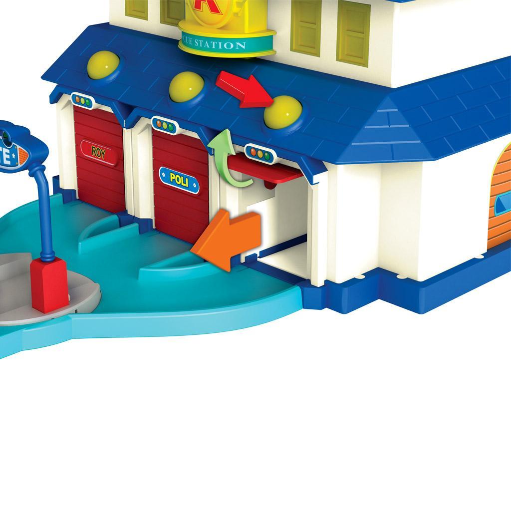 Ouaps 83156 jouet de premier age robocar quartier general jeux et jouets - Robocar poli jeux gratuit ...