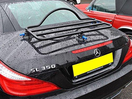 Mercedes SL Trunk Rack Unique Design, No Clamps No Straps No Brackets No Paint Damage