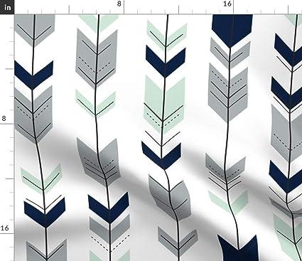 Awe Inspiring Amazon Com Spoonflower Fletching Arrows Fabric Arrow Home Interior Design Ideas Inamawefileorg