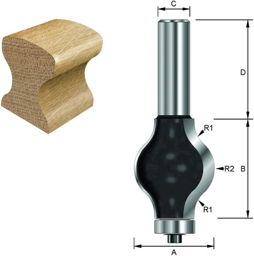 ENT Fraise /à balle Carbure Queue B 14,4 mm 12 mm C F 7,95 mm 15,9 mm D 40 mm Diam/ètre A