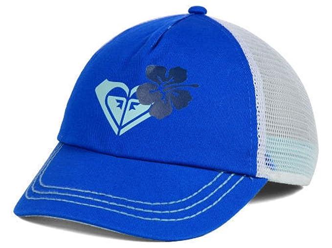 Roxy Womens Along The Way Blue Trucker Snapback Hat Cap Adjustable ... 057e3e597aa